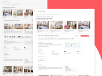 Airbnb Listings Grid View Redesign