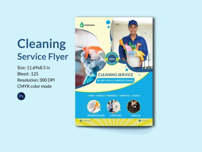 cleaning service flyer clean furniture clean cleaning service poster business flyer business promotion creative cleaning company home cleaning house cleaning cleaning business cleaning service brand identity design cleaning flyer cleaning