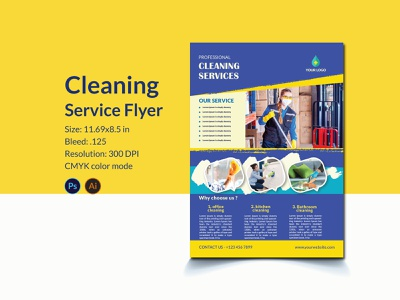 Cleaning  service flyer housekeeping cleaning service branding creative flyer cleaning flyer template brand promotion cleaning business promotion advertising furniture clean house cleaning service cleaning poster cleaning company brand identity