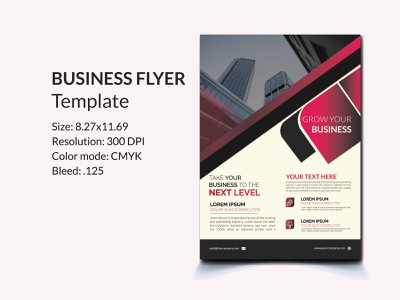 Corporate business flyer template modern purple layout graphic flyers flyer digital design creative corporate consulting concept company clean business agency ad advertising branding flyer brand identity design