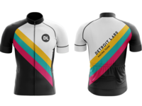 Detroit Labs Racing Team bike jerseys