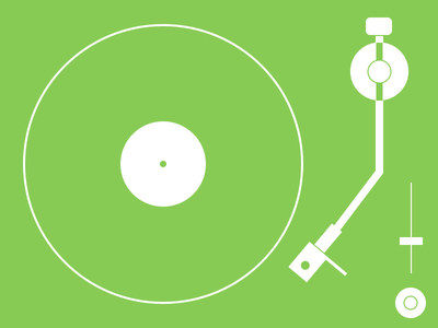 Practice - Record Player vector