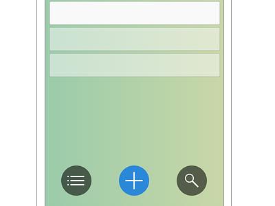 Wishful List 0.1 wip app mobile