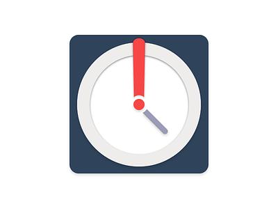 Tardy App Icon app vector flat icon wip