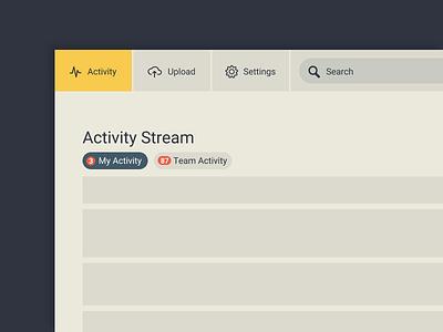 DAILY UI* - Navigation process web flat ui dailyui