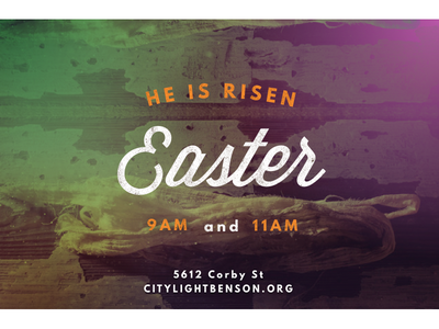 CLB Easter church color event