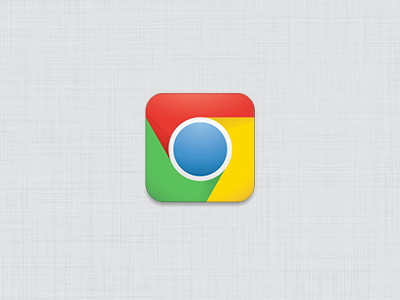New iOS Chrome icon concept ios ipad iphone