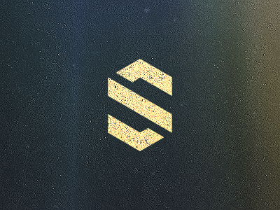 S mark logo texture grain corporate design s letter brand grid mark vector geometrical