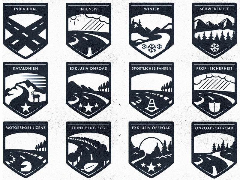 Volkswagen Badges nature illustration volkswagen badge pin weather icon street vector car website vw