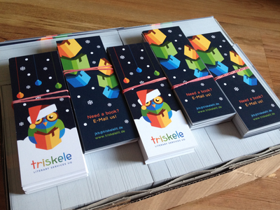 Triskele xmas Bookmarks
