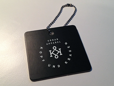 KK Tag streetwear urban fashion logo branding tag clothing kk monogram accessoire badge