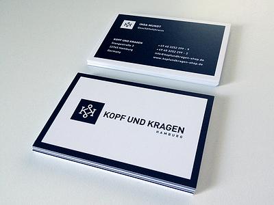 KK Cards kk vector monogram logo branding print cards offset corporate black white fashion