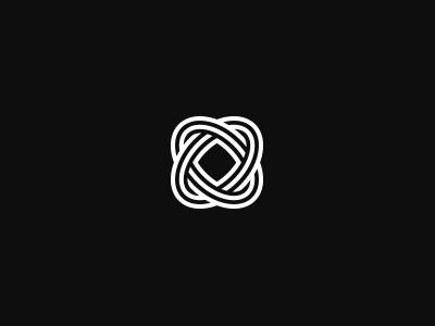 OO Monogram o logo vector grid monogram letter initials geometrical symbol symmetrical twisted atom