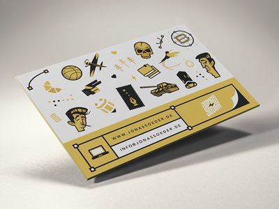 Bizcards 2014 print offset logo brand cards illustration pattern icons business custom type typography