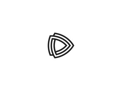 DD Monogram dd geometrical twisted monogram vector branding mark logo initials