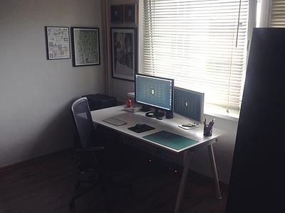 Workspace desk workspace