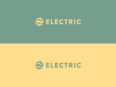 Electric e logo branding electric electricity agency mark bolt lightning