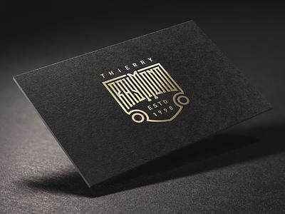 Raymond Final badge print typography mark vector handlettering custom type logo logotype