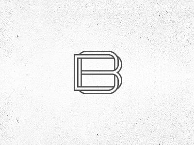 Bradaric Ohmae Branding b o corporate logo monogram brand fashion design bo ohmae bradaric outlines stamp identity twisted grid custom