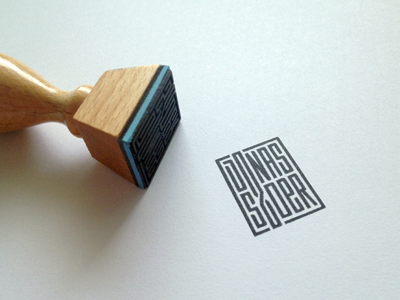 name stamp by jonas dribbble dribbble