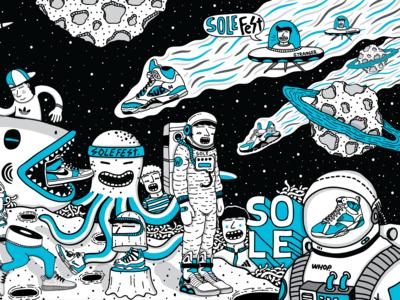 Illustration for Solefest