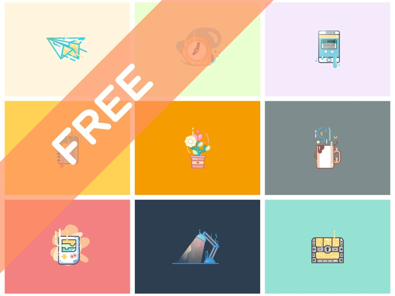 10 free vector illustrations  part ii