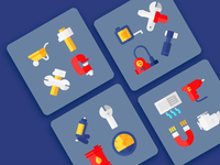 Work Tools Icons