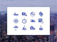 Global logistics  glyph version  1