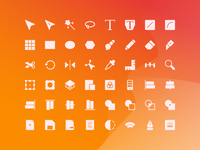 Vector Editing Icons