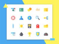 Seo Icons (Flat)