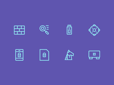 System Icons With Thin Line icon iconography line ui ux user interface iconset button app system