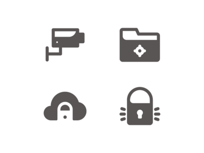 Safety System Icons