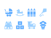 Toys Icons (Solid)