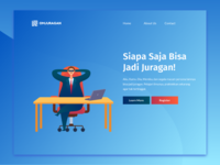 Omjuragan Landing Page Exploration