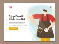 Ngopi Landing Page