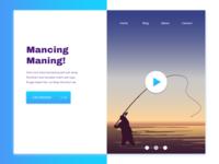 Mancing Maning Landing Page