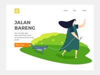 Jalan Bareng Landing Page