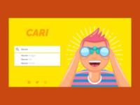 Cari Landing Page