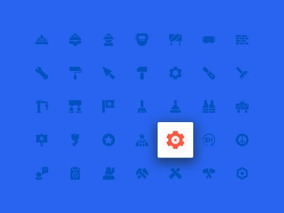 Labor Day Icons (Solid) symbol sign action system ux ui button iconography icon set icons icon