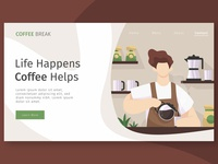 Coffee Break Landing Page