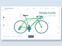 BimBimCycle Landing Page