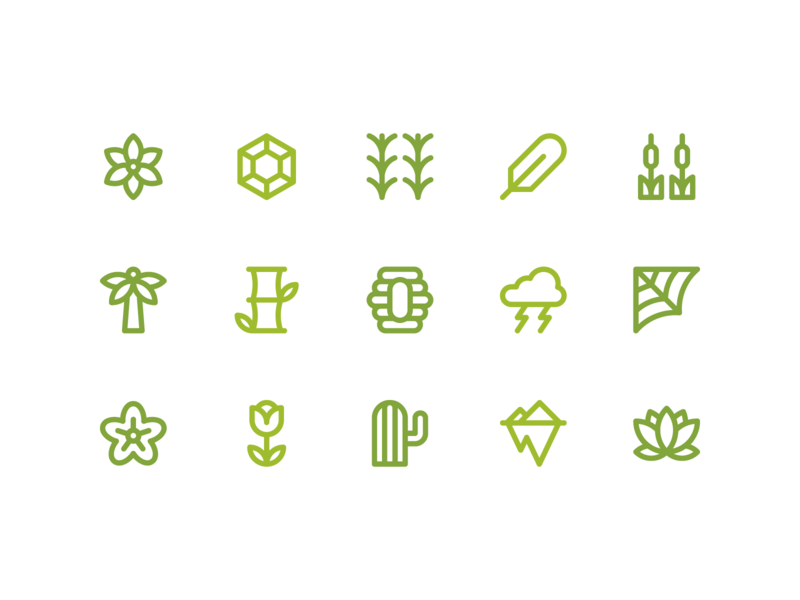 Nature Icon Pack by Rizki Kurniawan Darsono for Inipagi