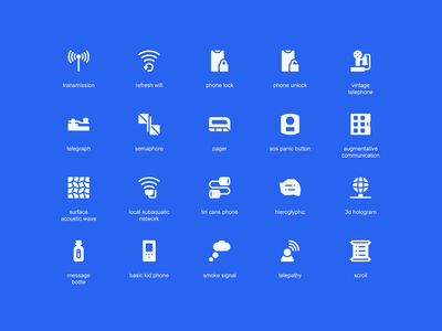 Icontellyou 1.1 - Communication (Solid) iconography icontellyou communication solid glyph ux ui interaction button system icons icon pack icon set icons icon