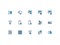 Icontellyou 1.1   communication  filled line