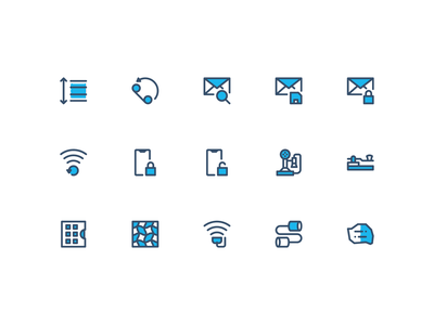 Icontellyou 1.1 - Communication (Filled Line) communication symbol ux ui interaction system icon iconography icontellyou icon design icon set icons
