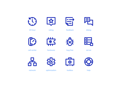 Tech Support Super Basic Icons technology system icon button icon set iconography iconpack iconset icon icons super basic support tech