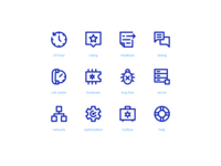 Tech Support Super Basic Icons