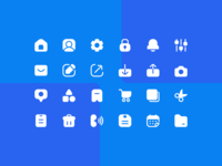 User Interface Super Basic Icons in Solid
