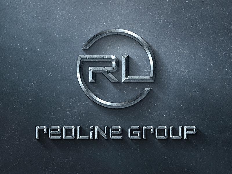 Redline logo mockup 24