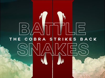 Battle Snakes design mockup concept idea poster film movie download free snakes battle